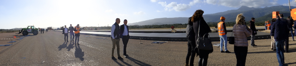 L'aéroport de Figari poursuit son lifting  à un bon rythme