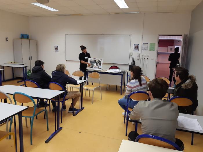Collège Arthur-Giovoni d'Ajaccio : 170 élèves au Forum des Métiers et de l'Orientation