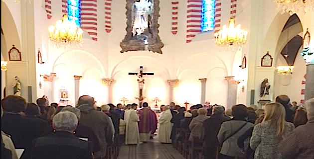 Bastia : Acte de vandalisme à l'église Notre-Dame de Lourdes