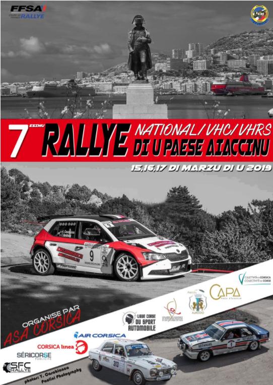 Top départ du 7e rallye national di u Paese Aiaccinu