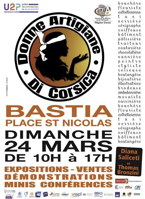 Donne artigiane di Corsica à l'honneur le 24 mars sur la Place Saint Nicolas de Bastia