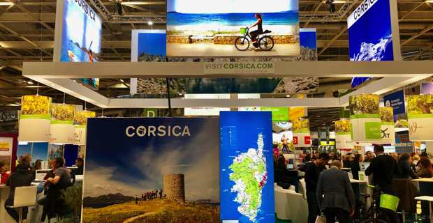 La Corse, invité d'honneur du salon « Destinations Nature », Porte de Versailles à Paris.