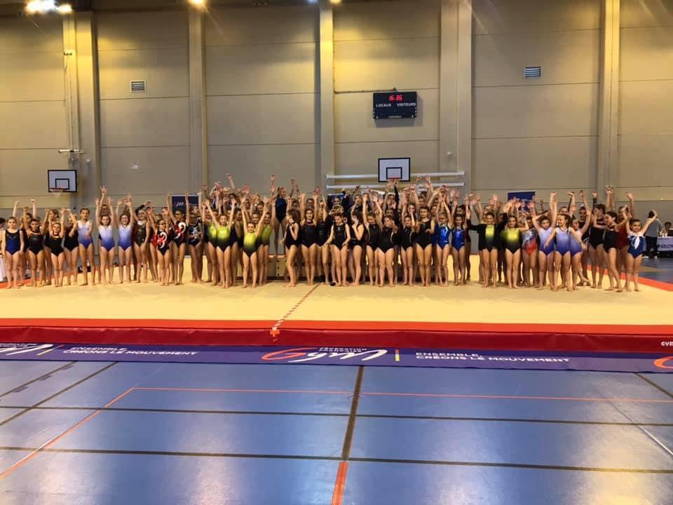 Plus de 300 gymnastes aux championnats de Corse qui se sont déroulés à Calvi