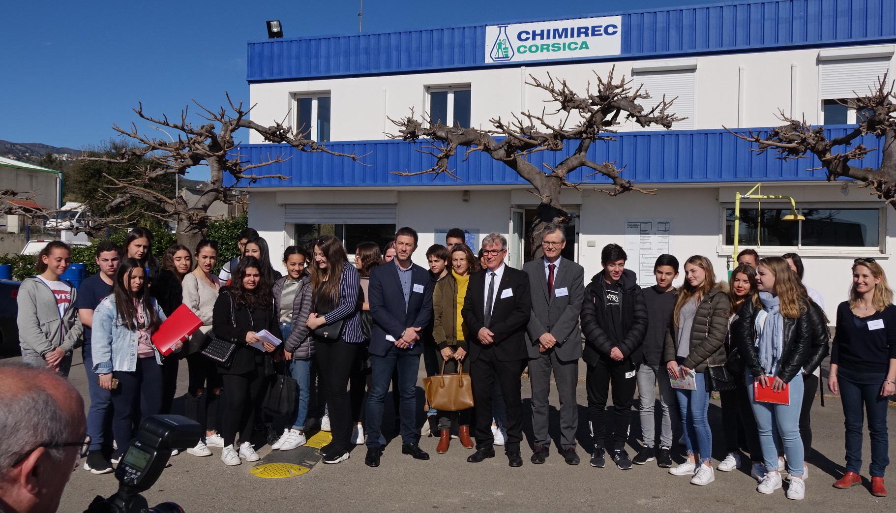 Folelli : Chimirec ouvre ses portes pour la semaine de l'Industrie