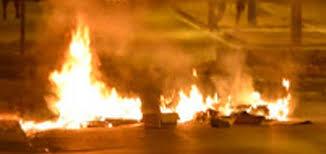 Un container à poubelle incendié à Bastia