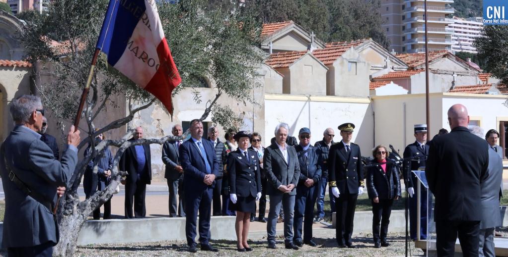 Un hommage présidé par la préfète de Corse / Photo Michel Luccioni