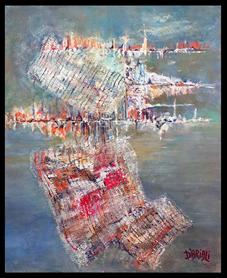 Exposition de Dominique d'Ariali à la Galerie Deux Arts d'Ajaccio