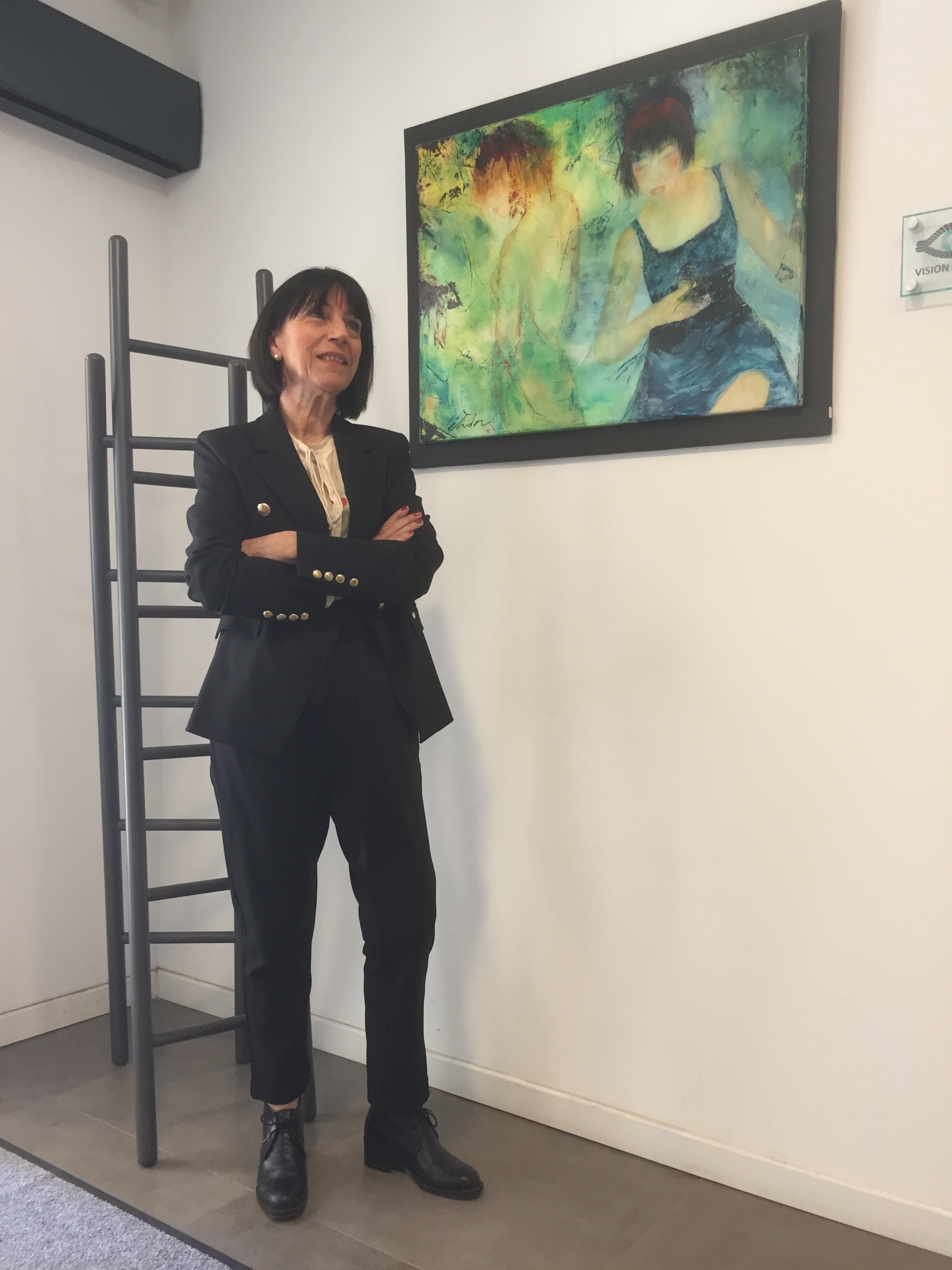Bastia : La très belle exposition de Letidor au Centre Vision Futura