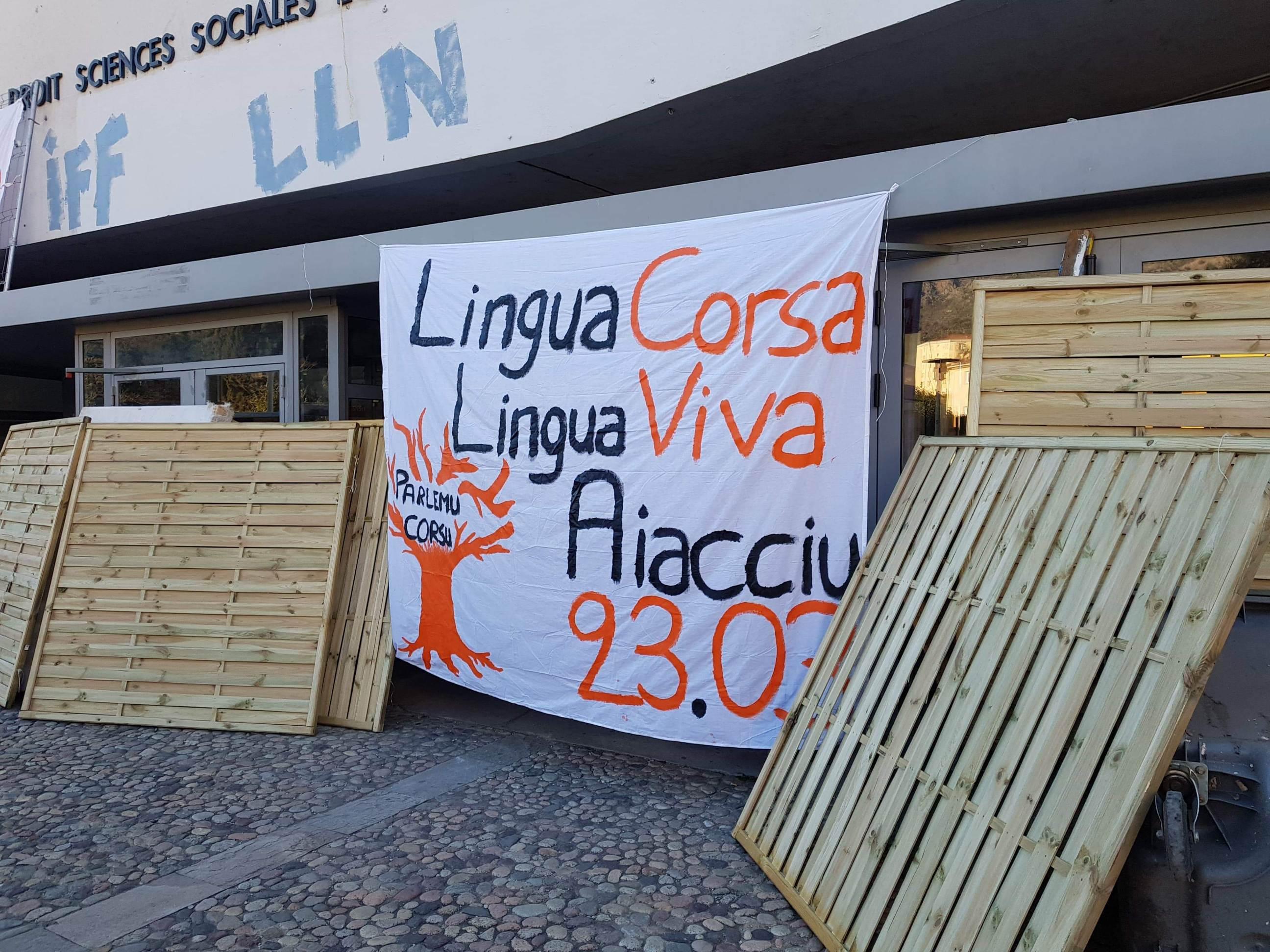 L'Università di Corsica bloquée ce jeudi 21