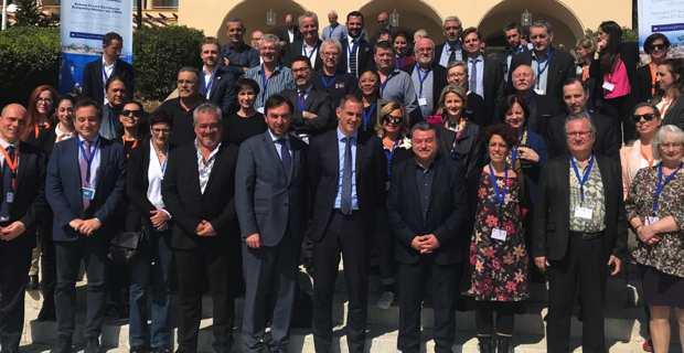 Le président du Conseil Exécutif de Corse, réélu président de la la Commission des Iles de la Conférence des Régions Périphériques Maritimes (CRPM) à Corfou en Grèce.
