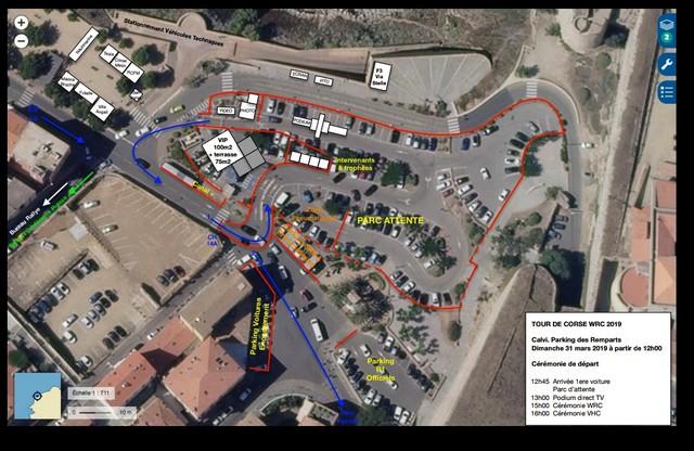 Effervescence à Calvi où on prépare l'arrivée du 62ème Corsica Linéa - Tour de Corse WRC
