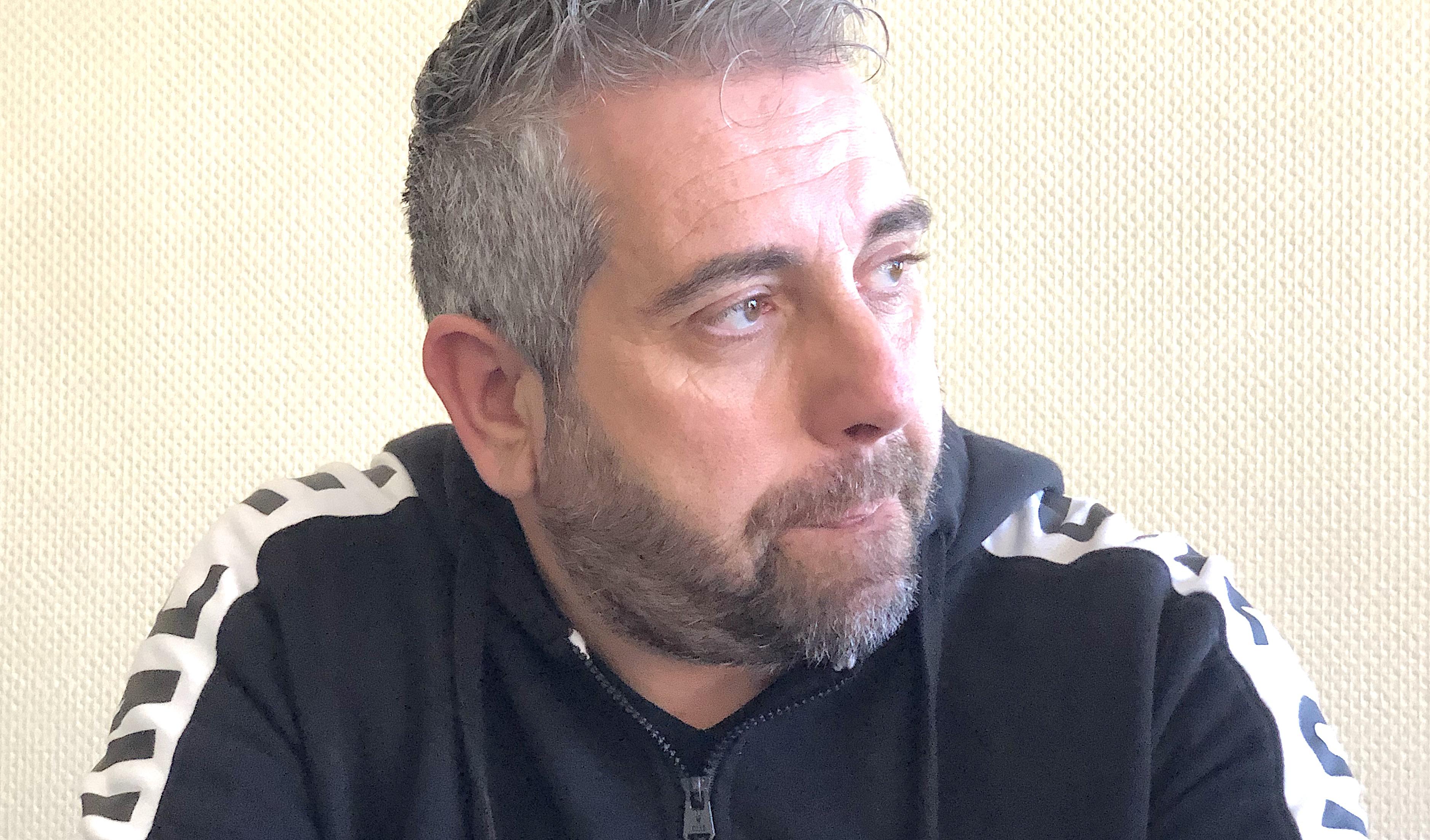 Christophe Oriola, responsable de la section syndicale du SNPC d'Air-Corsica
