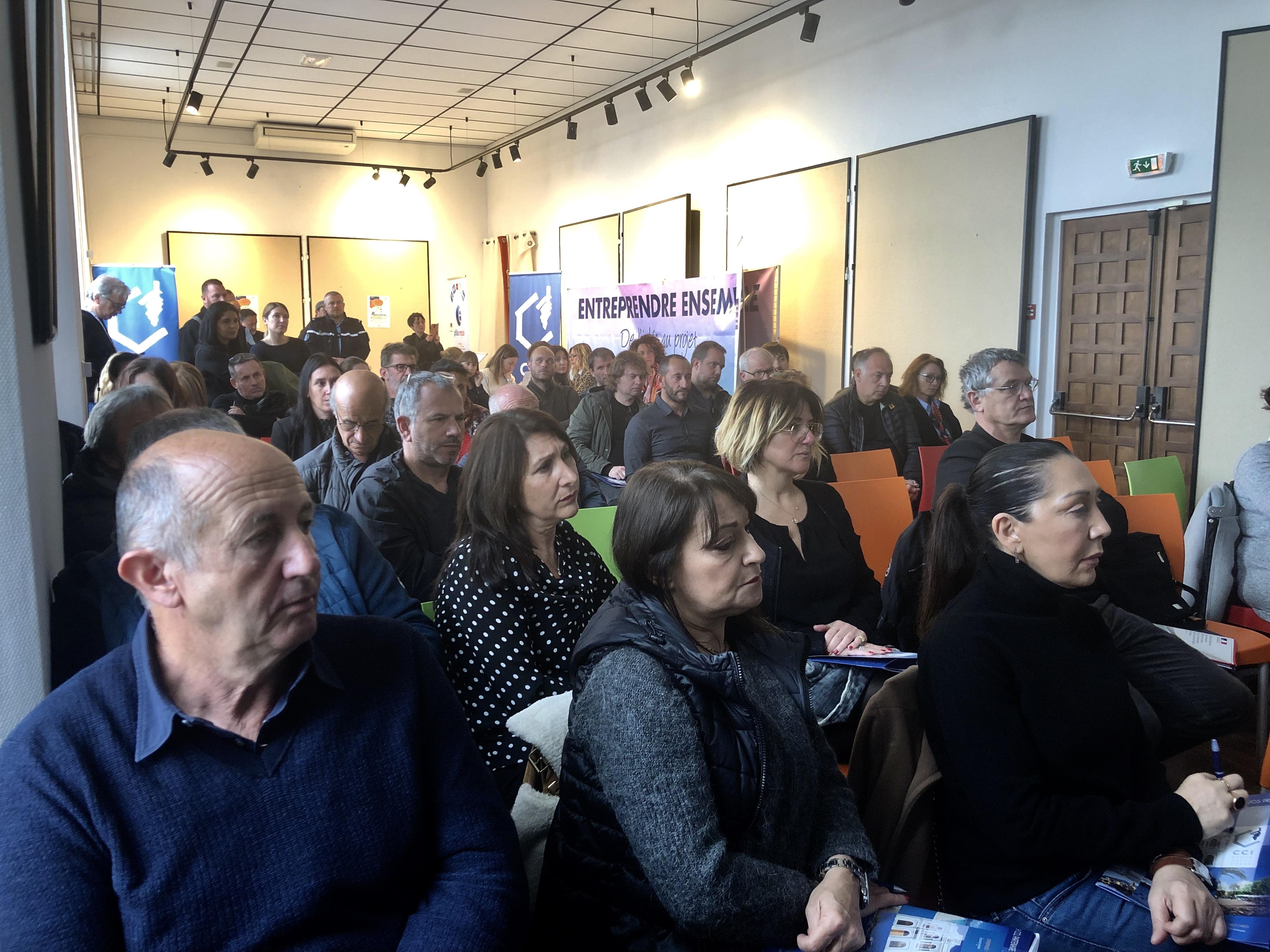 La première édition des Rencontres de l'Hôtellerie-Restauration organisée à Lisula