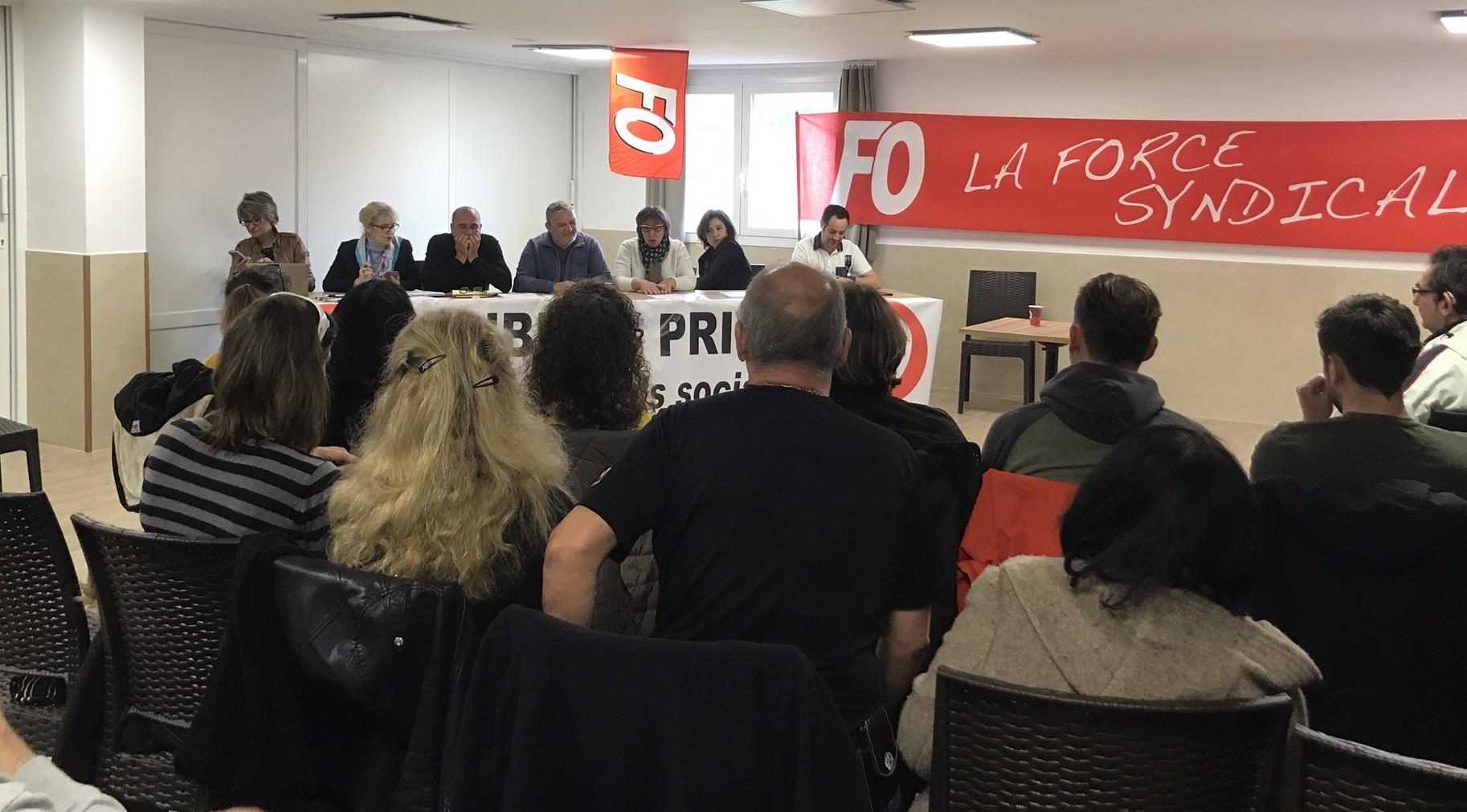 """Un syndicat régional  """"Focom Corsica Poste"""""""