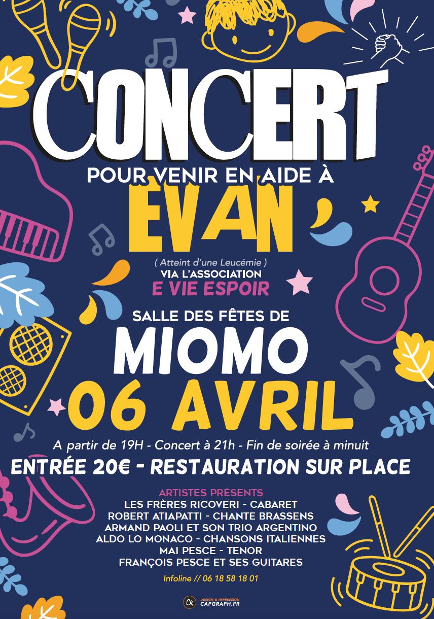 Evan, 9 ans, lutte contre la maladie : un concert à Miomu pour l'aider à la combattre