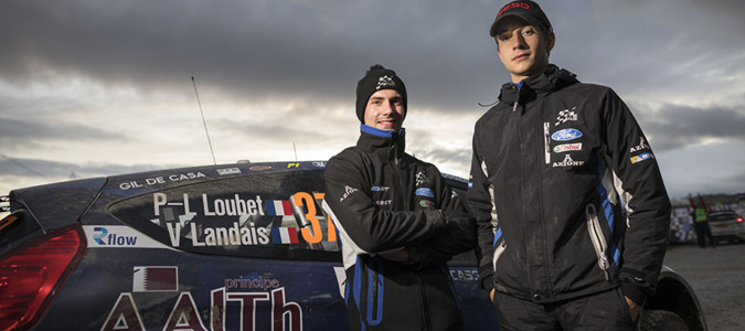 Pierre-Yves Loubet (à gauche) avec Vincent Landais