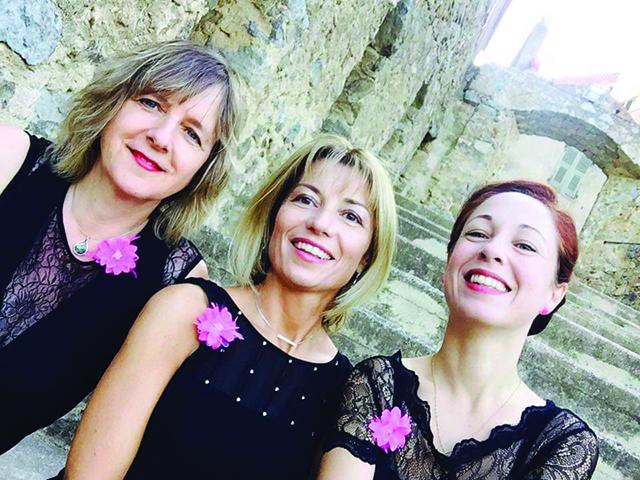 Le trio EmA# ce soir au théâtre Sant'Angelo à Bastia ! A ne pas rater !