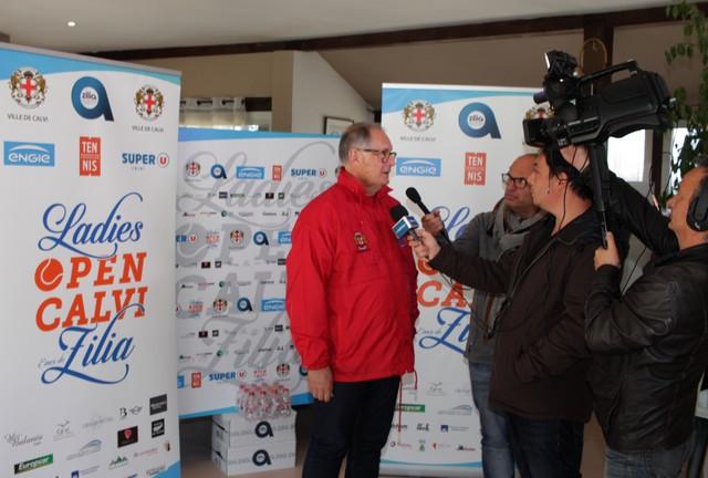 Jean Gour, directeur du Ladies Open Calvi - Eaux de Zilia