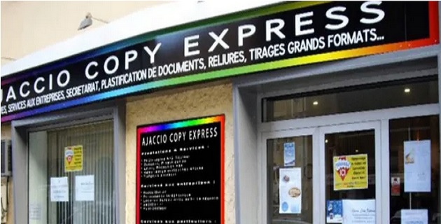 Sauver « Ajaccio Copy Express » d'une faillite certaine !