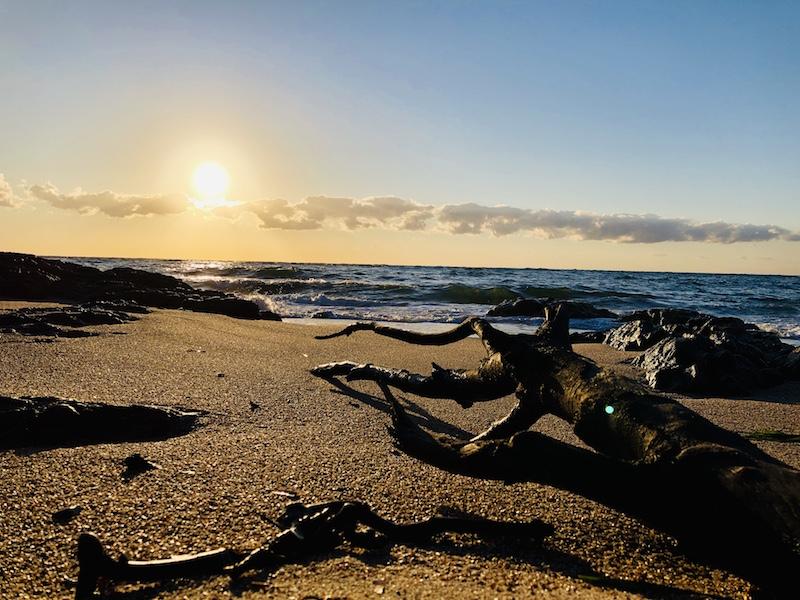 La photo du jour : Lever de Soleil sur Tarco