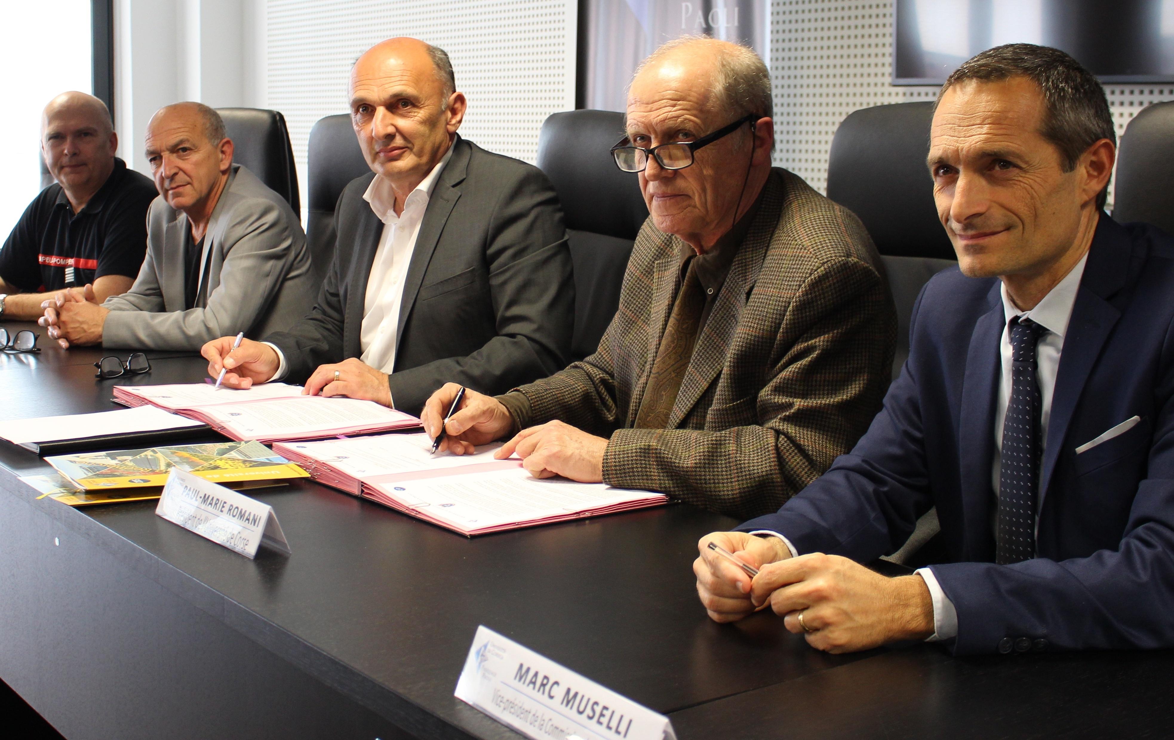 Université de Corse-SIS 2A : Un partenariat étroit pour la lutte et la prévention des incendies