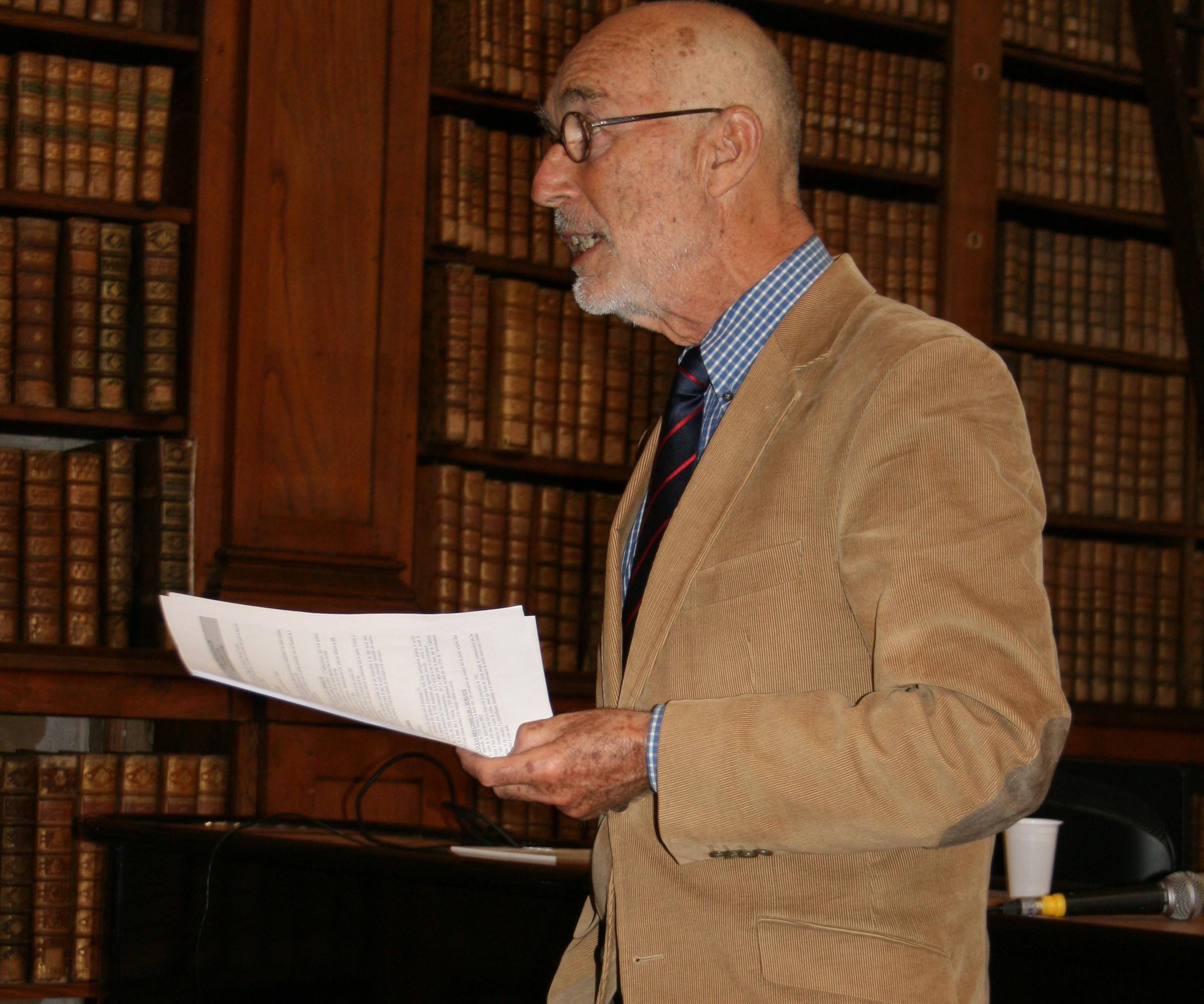 Jean Louis Fillon délégué général de l'IFM