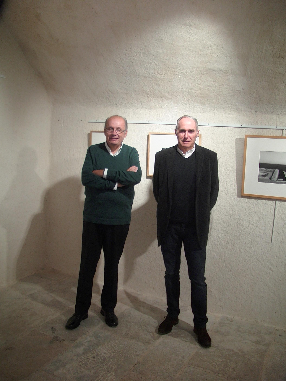 Philippe Peretti, adoint au maire délégué à la culture et au patrimoine et Patrick Jallageas ont présenté vendredi soir cette nouvelle exposition temporaire au musée