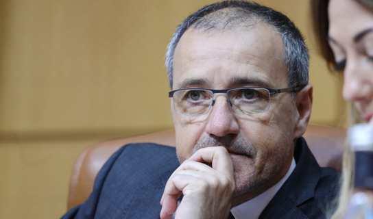 Le président de l'Assemblée de Corse, Jean-Guy Talamoni. Photo Michel Luccioni.