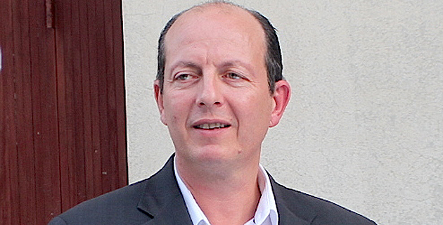 Paul-Félix Benedetti, leader du parti nationaliste Core in Fronte.