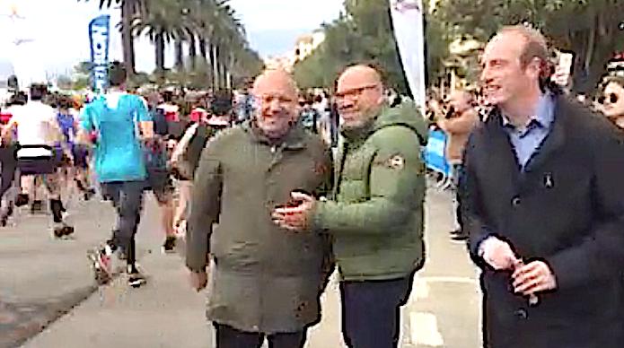 Laurent Marcangeli a donné le départ à plus de 600 concuurents