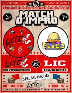 Un match d'impro théâtrale ce samedi à Sainte Lucie de Porto Vecchio