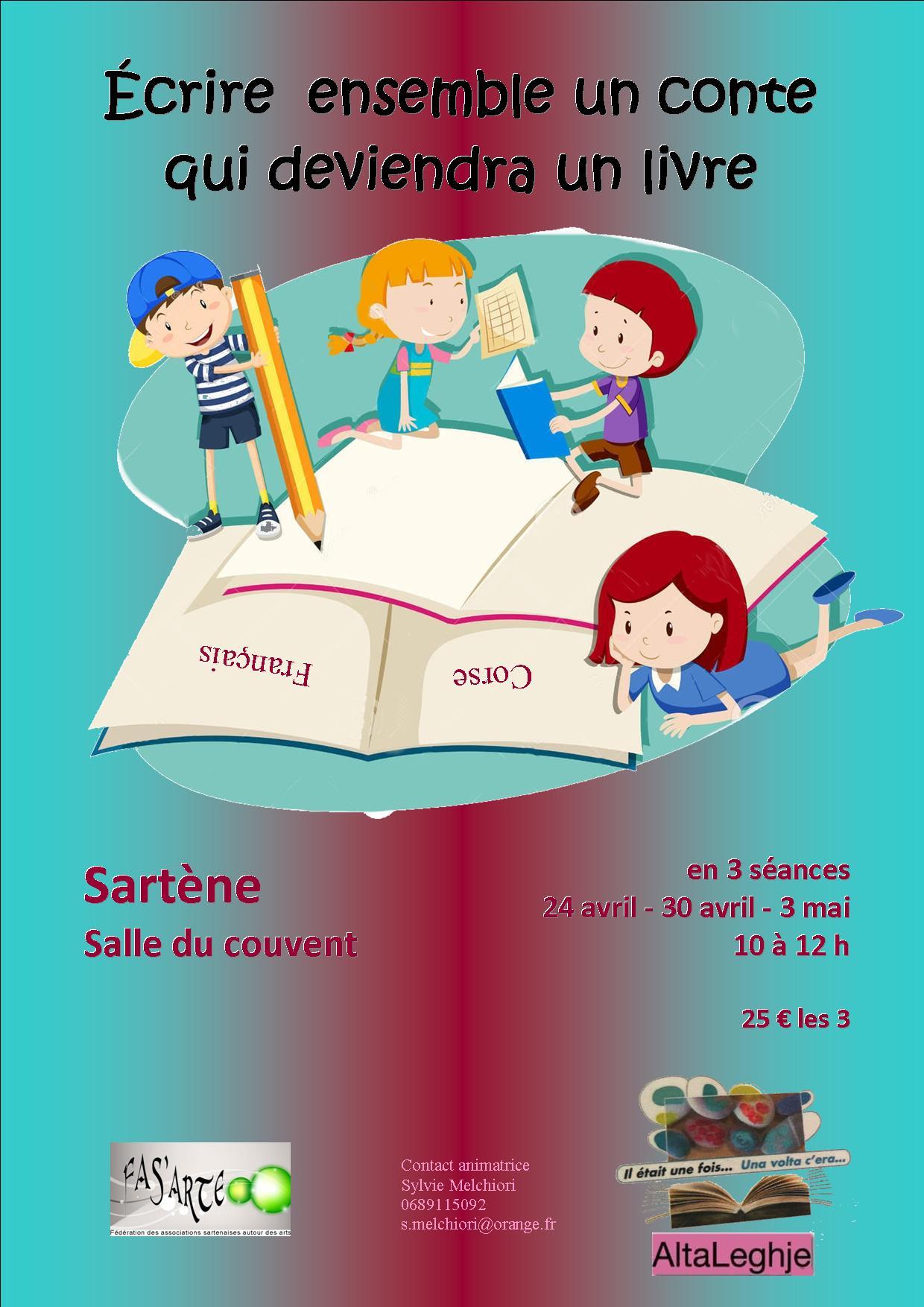 Sartene : Écrire ensemble un conte qui deviendra un livre