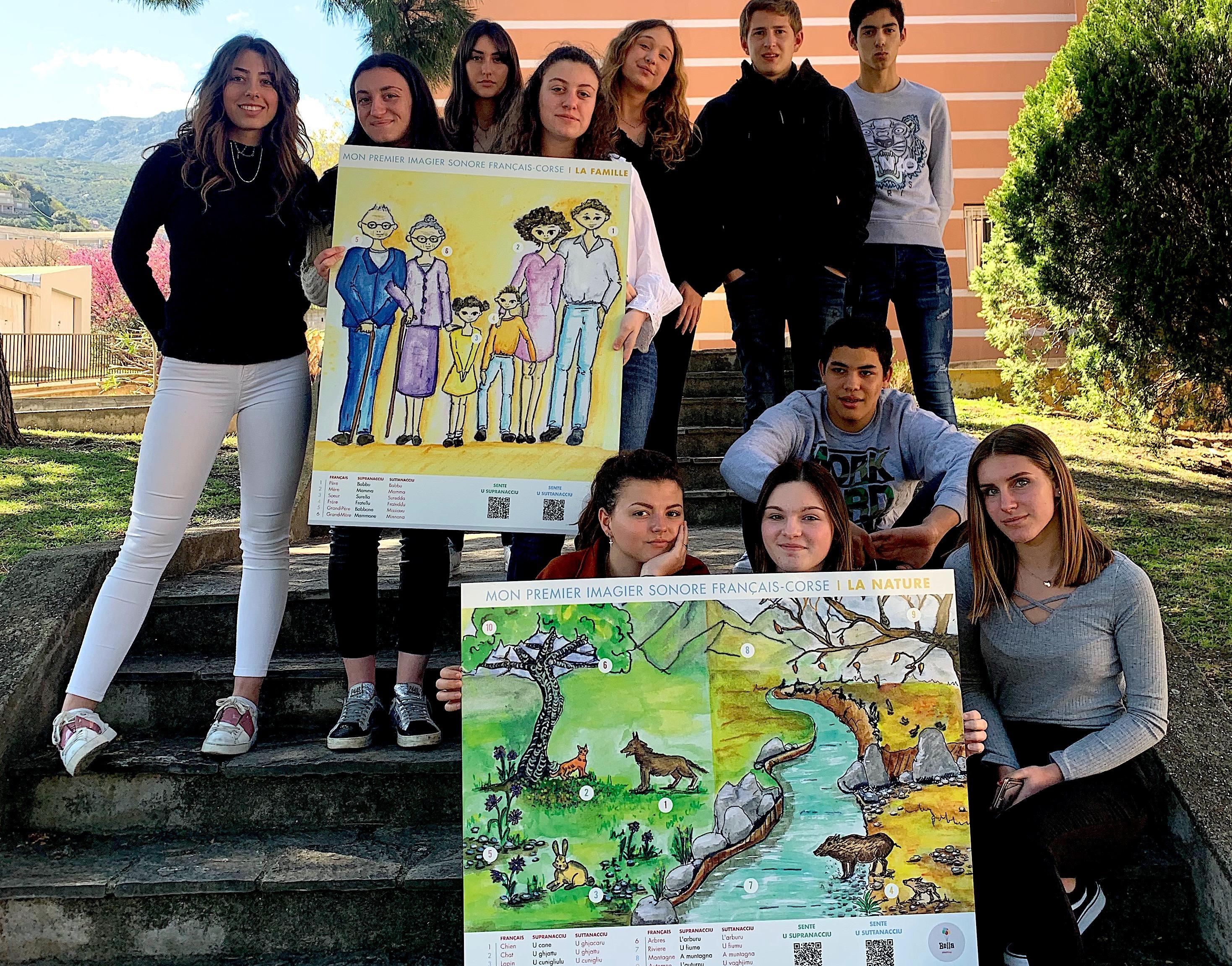 Bastia : Un projet innovant au service de la langue corse au Lycée Giocante de Casabianca