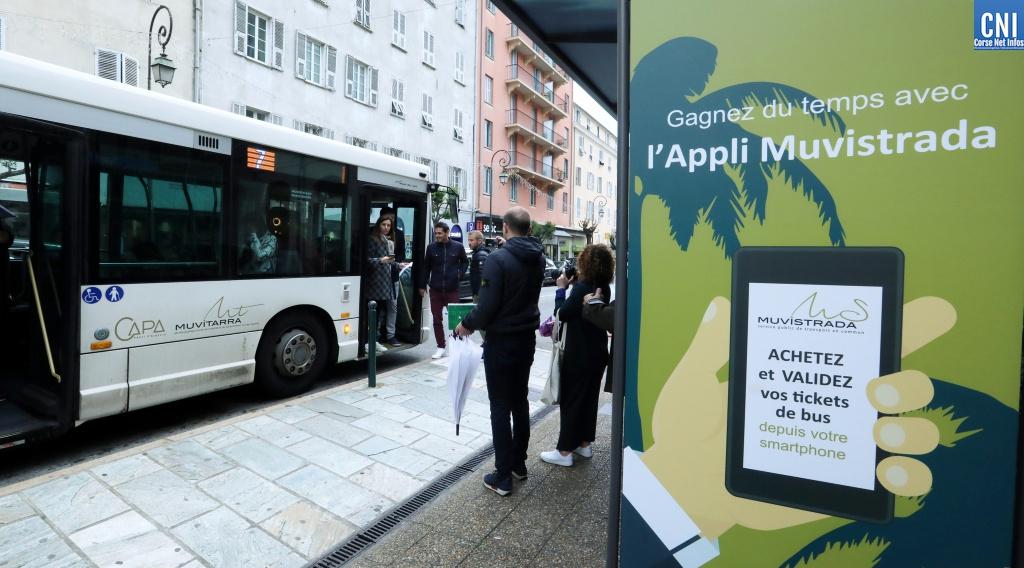 """Ajaccio : Plus d'excuse pour ne pas rater votre bus avec """"CapaMove"""""""