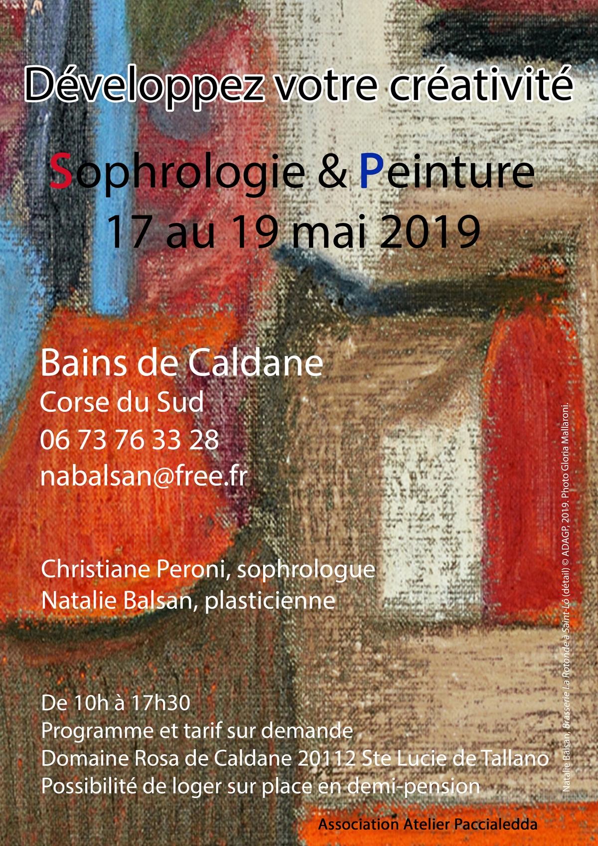 Sophrologie et peinture s'invitent aux Bains de Caldane du 17 au 19 mai