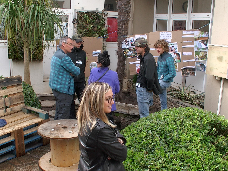 Ouverture à la mobilité et à la citoyenneté, projet d'alimentation territorial, économie circulaire au lycée agricole de Borgo