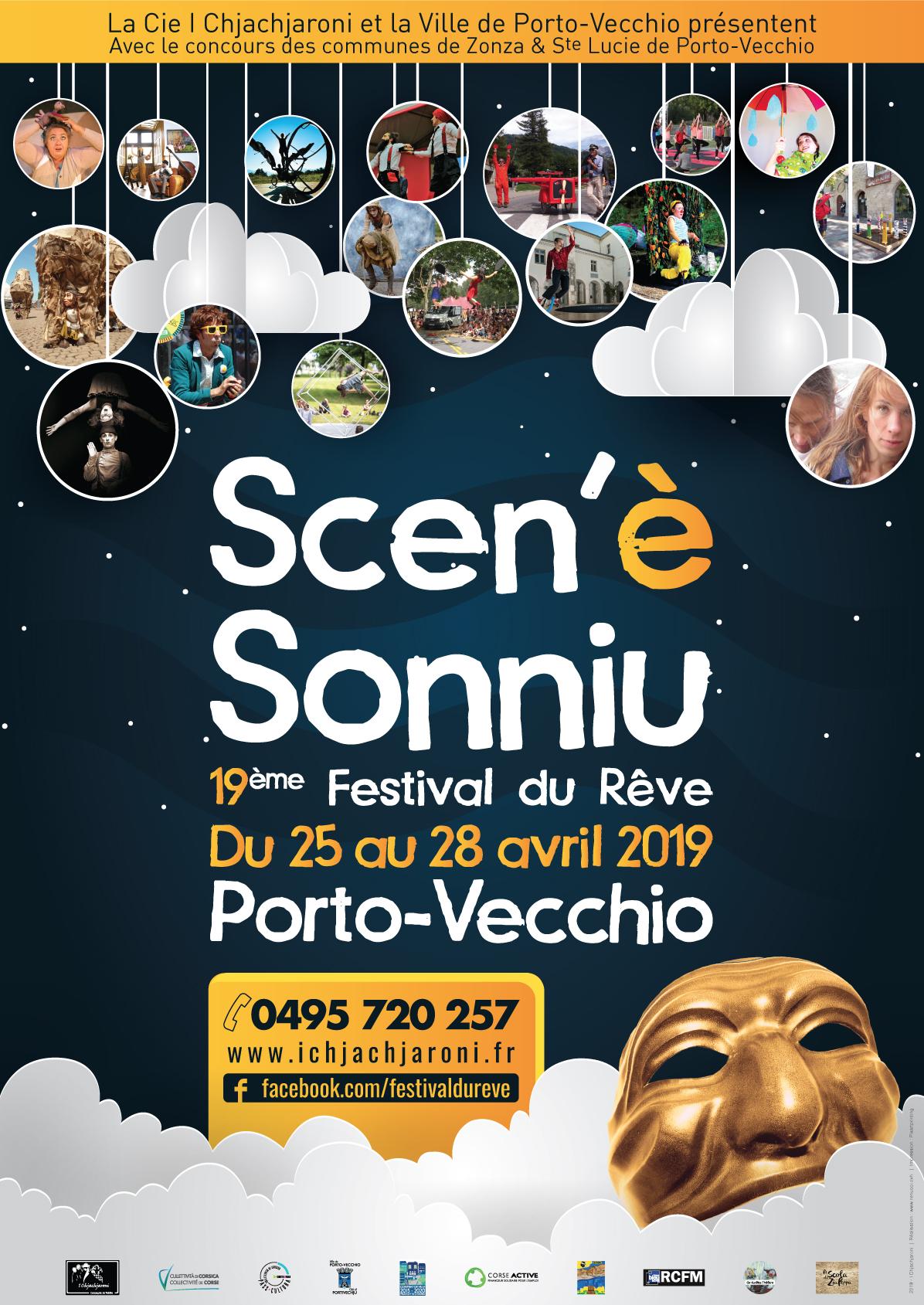 Porto Vecchio : Le 19° Festival du Rêve revient du 25 au 28 avril
