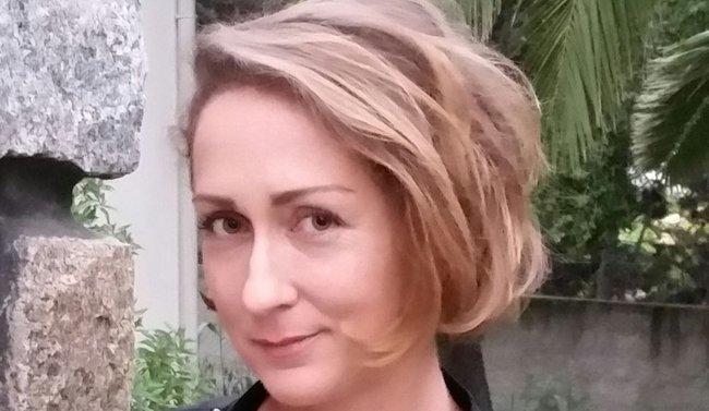 Marie Van Moere en dédicace à Ajaccio