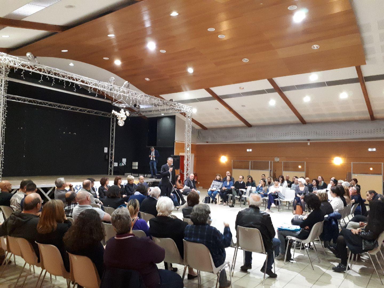 Serge Linale, adjoint au maire, délégué à la cohésion sociale, aux liens intergénérationnels et au logement social, a présenté le projet TZCLD à Bastia