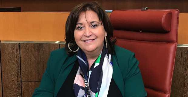Catherine Cognetti-Turchini, conseillère territoriale du groupe Andà per Dumane, et conseillère municipale de Merusaglia.