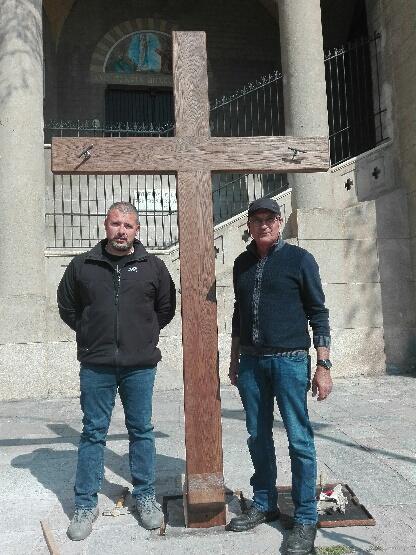 Bastia : Une nouvelle Croix pour le Catenacciu de Notre-Dame de Lourdes