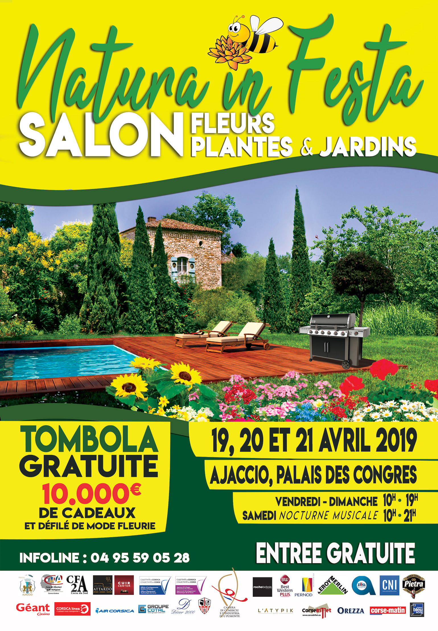 """Le premier salon """"Natura in Festa"""" ouvre à Ajaccio"""