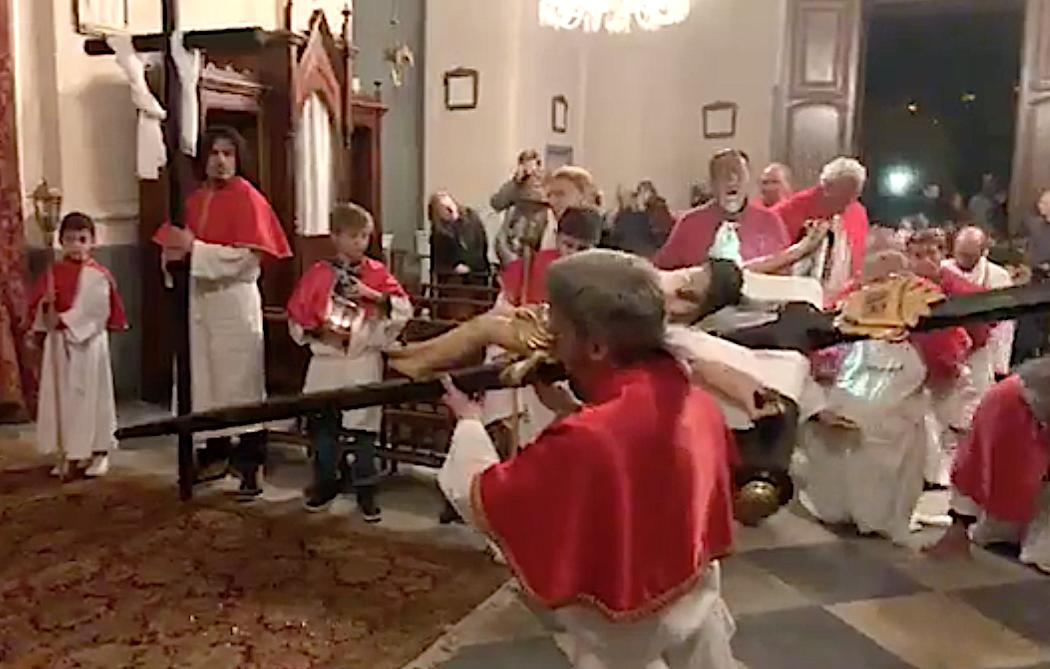 Ghjovi santu in Santa Maria-di-Lota