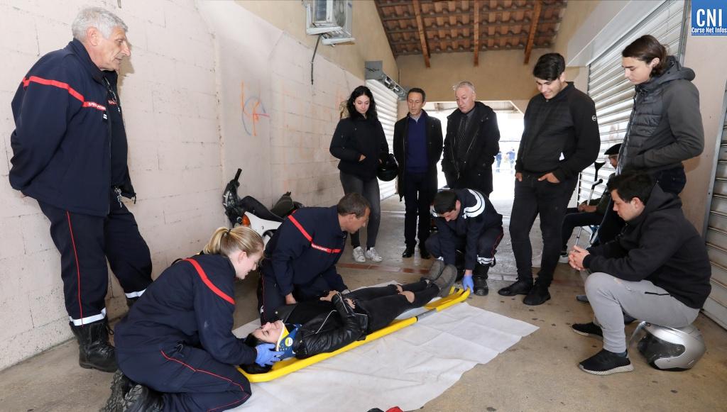 Une journée sous le signe de la sécurité routière pour vingt jeunes cyclomotoristes d'Ajaccio