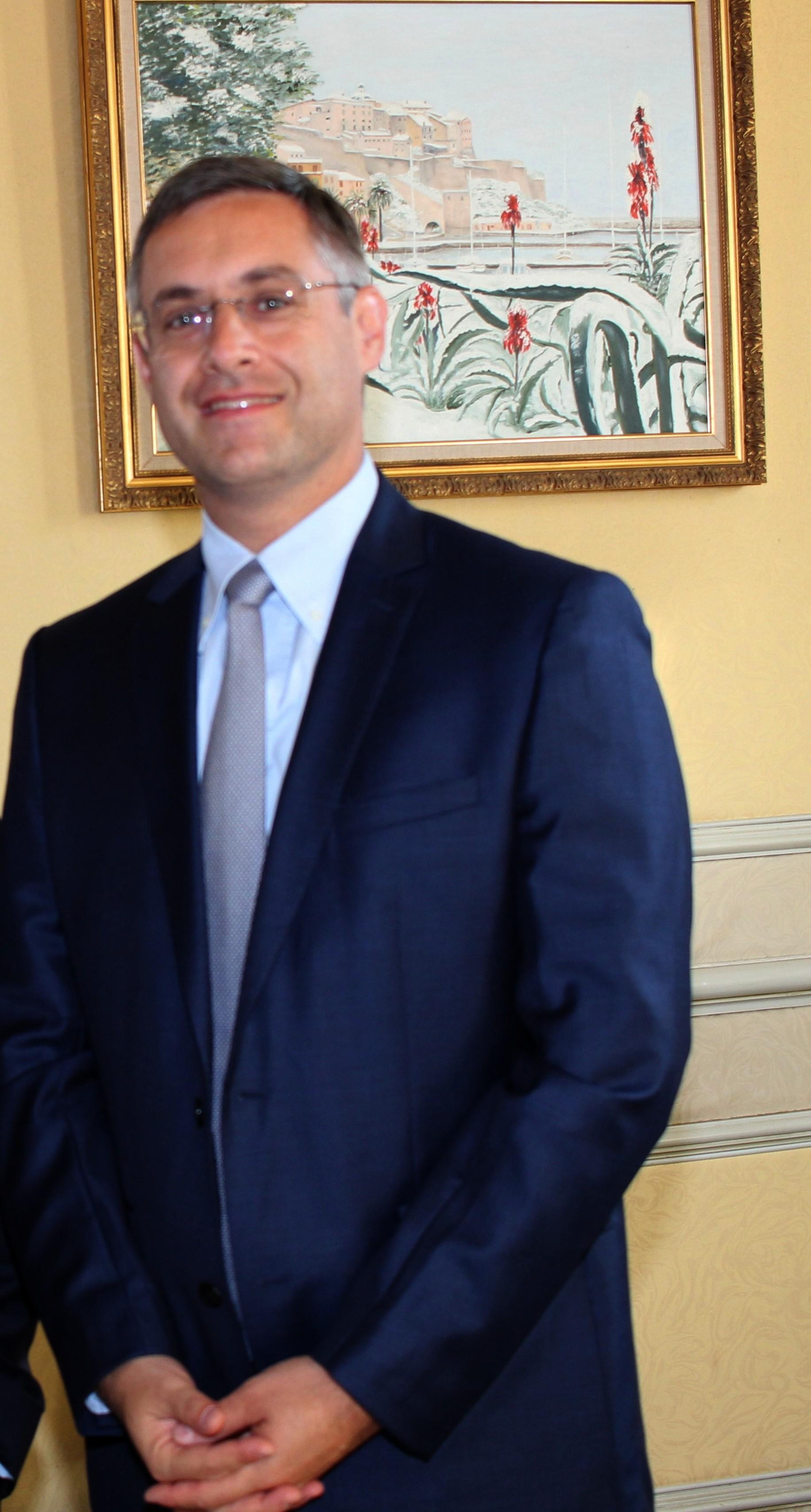 Jérôme Seguy, sous-préfet de Calvi durant 32 mois
