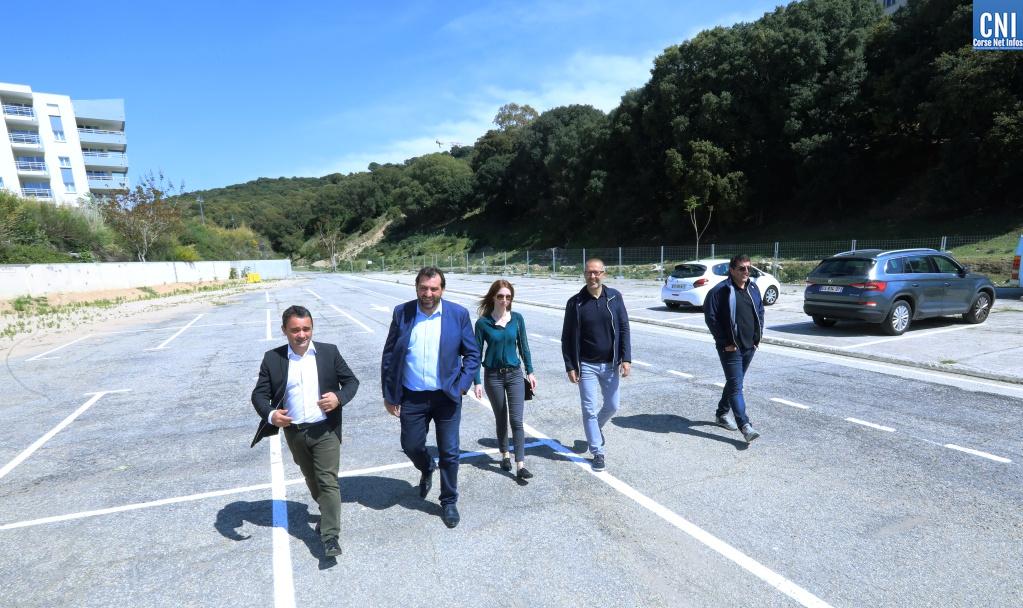 La CAPA inaugure 150 places-relais pour les automobilistes ajacciens