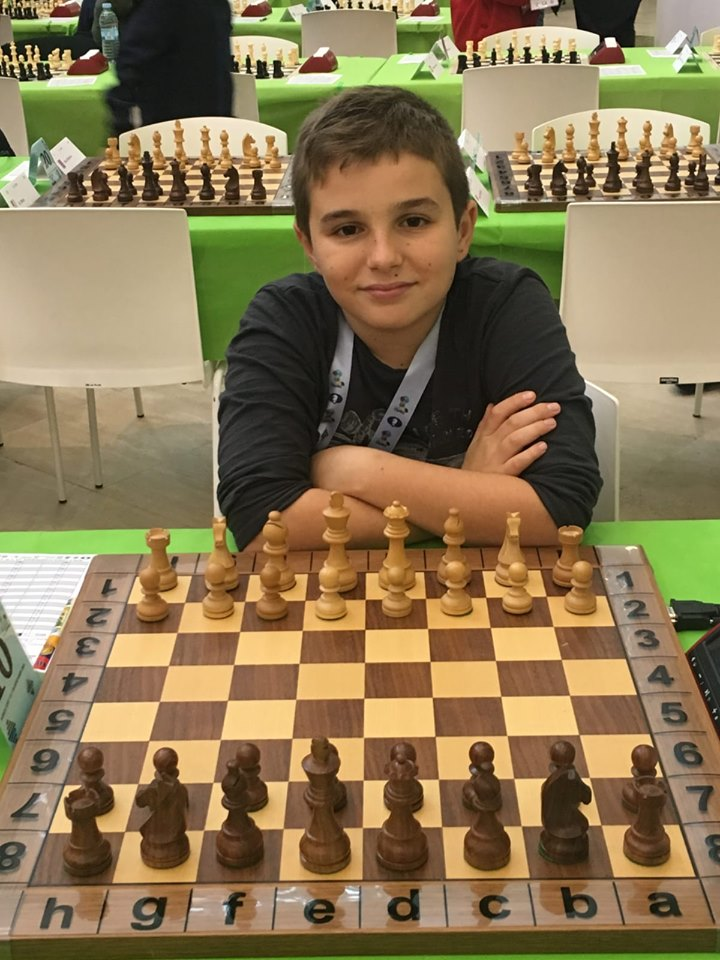 Marc'Andria Maurizzi  réalise une 2e norme de Maître International d'échecs