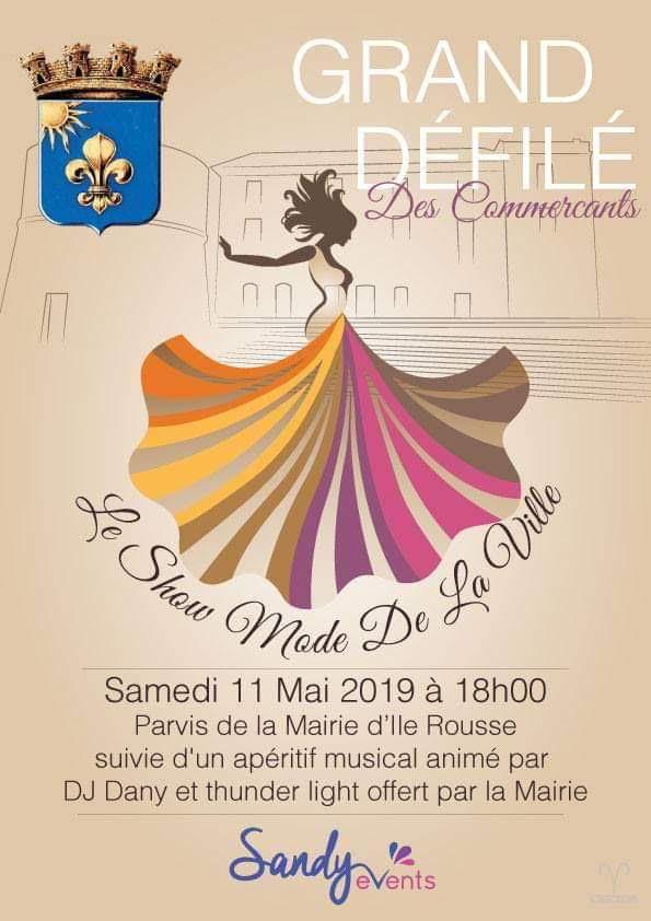 Défilé de mode le 11 mai à l'Ile-Rousse