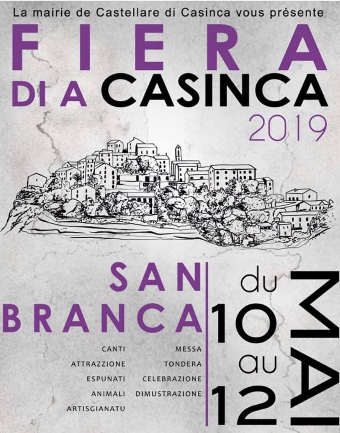 Castellare di Casinca : La foire de Saint Pancrace revient du 10 au 12 mai