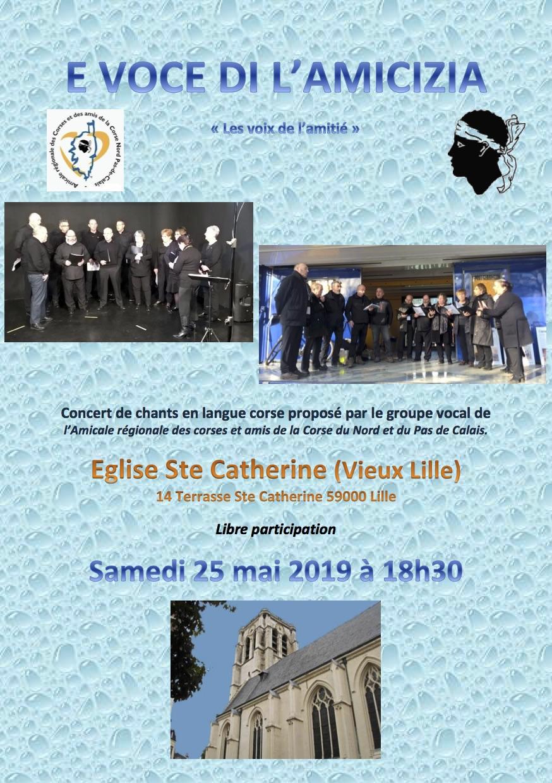 """E voce di l'amicizia"" : Un concert des chants corses à Lille"